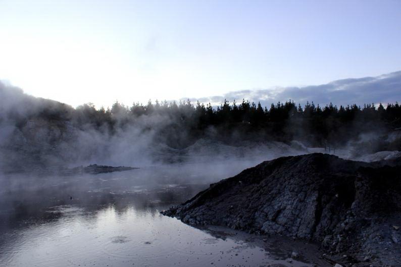 新西兰旅游景点,新西兰景点,北岛,罗托鲁瓦,罗托鲁阿,地狱之门地热