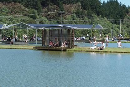 新西兰旅游景点,新西兰景点,北岛,陶波,陶波湖,胡卡龙虾公园
