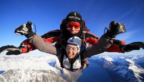 新西兰南岛,皇后镇,峡湾,跳伞,观星包车纯玩6日游