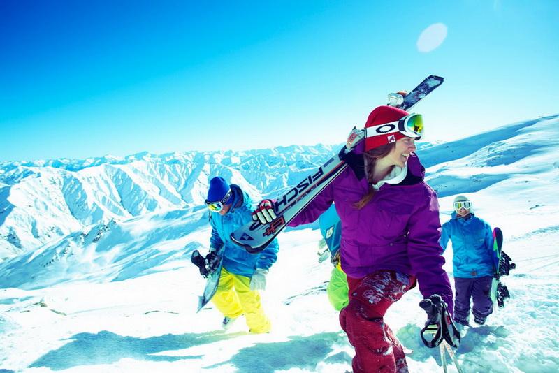 新西兰滑雪场,皇后镇滑雪场,南岛滑雪场,卡德罗纳滑雪场
