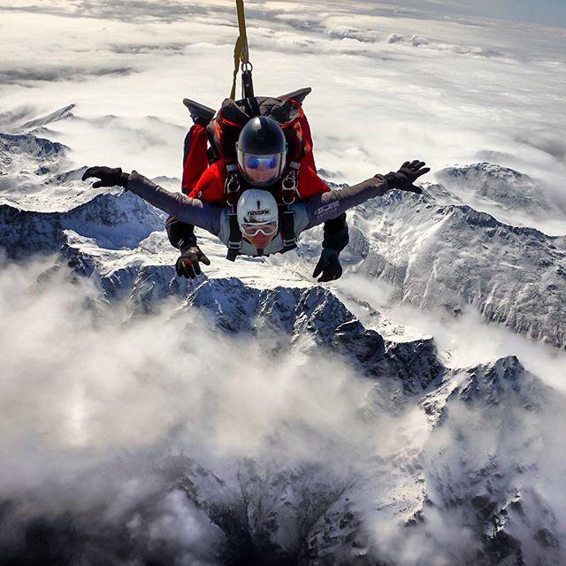 皇后镇高空跳伞
